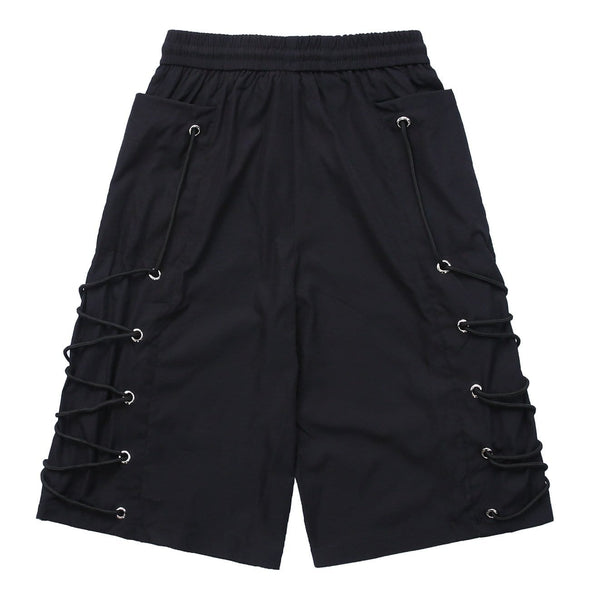 NEV Functional Tie Rope Big Pockets Cargo Shorts