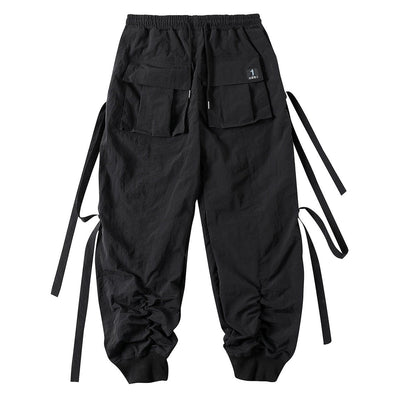 NEV Functional Ribbons Elastic Cargo Pants