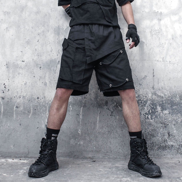NEV Functional Asymmetric Rope Shorts