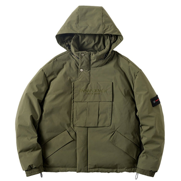 NEV Combat Ribbon Winter Down Coat