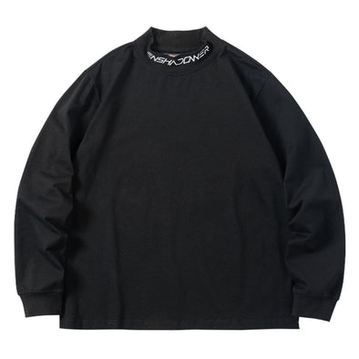NEV Dark Embroidered Letters Sweatshirt