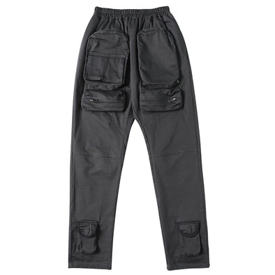 NEV Punk Multi Zipper Pockets Cargo Pants