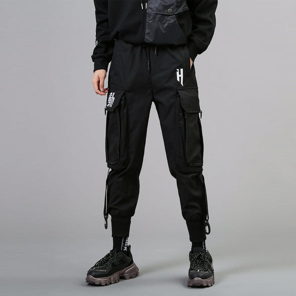 NEV Dark Functional Big Pockets Cargo Pants