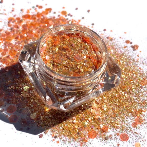 Chunky Loose Glitter Eyeshadow - Lipgloss lipstick eyeshadow glitter blush highlighter foundation