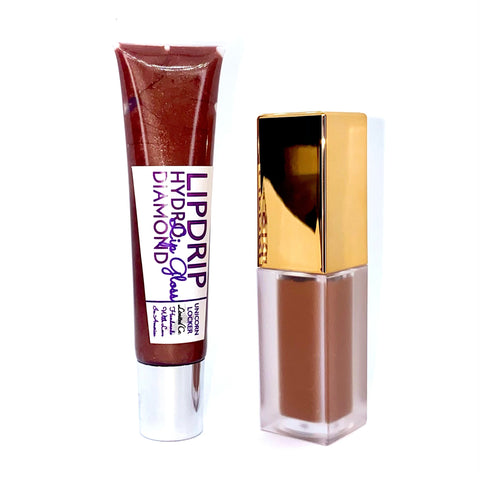 Lipkit Duo (Toasted Mocha) - TUL COSMETICS