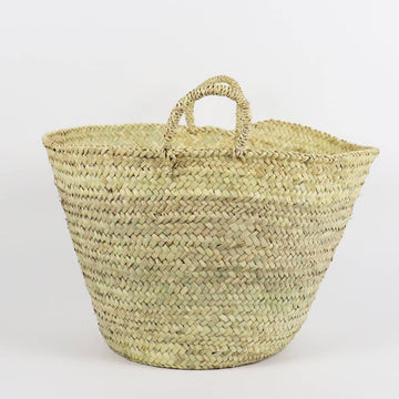 The Straw Storage Basket in Medium