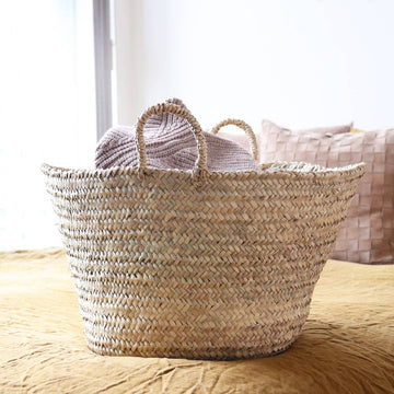 The Straw Storage Basket in Large