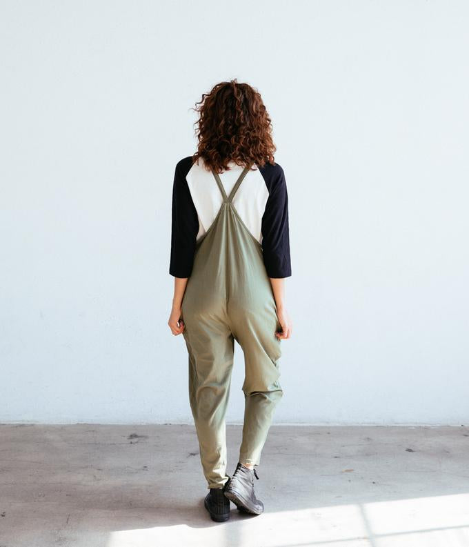 The Cadence Overall in Olive