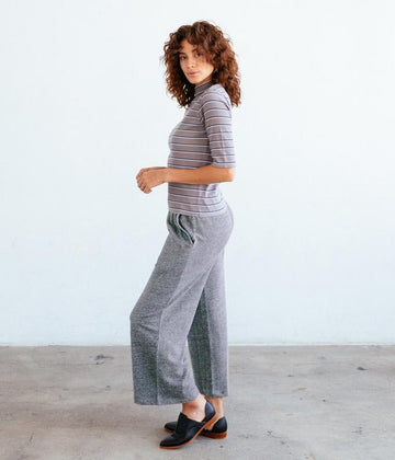 The Dixie Pant in Heather Grey