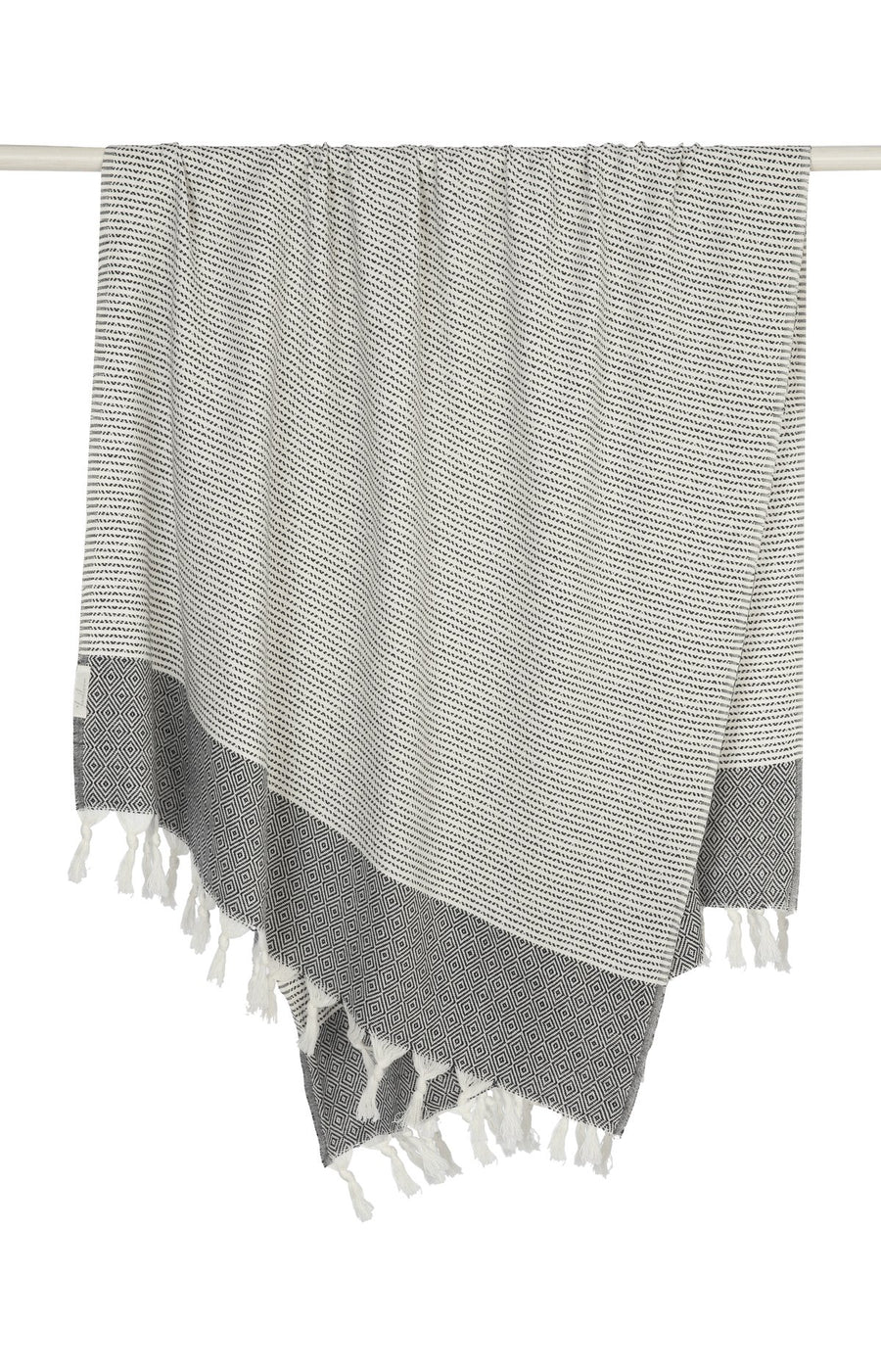 The Desert Throw in Black