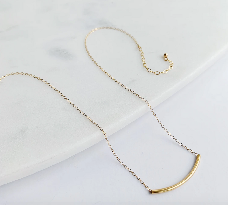 The Arch Necklace in Recycled 14k Gold Fill