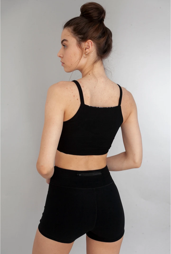 The Onyx High-Waisted Short