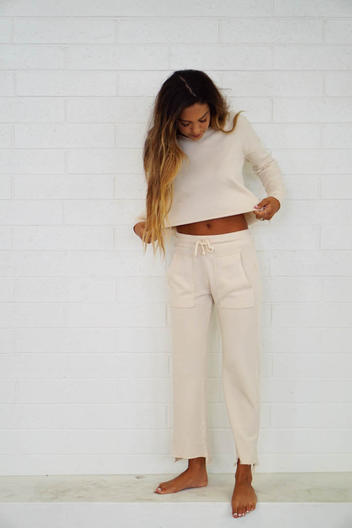 Edin Crop Sweatpant