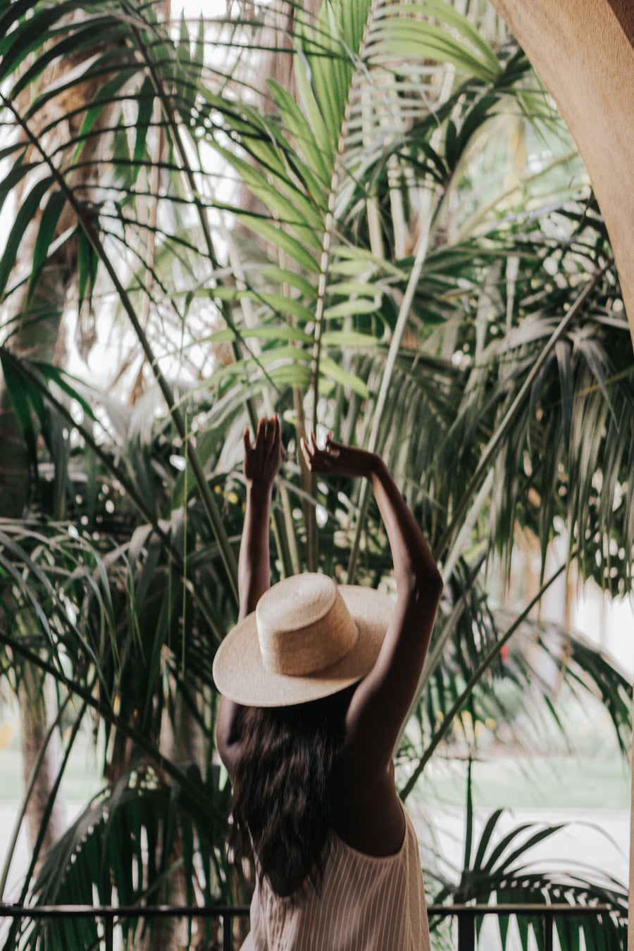 The Baja Bolero Hat in Light Palm