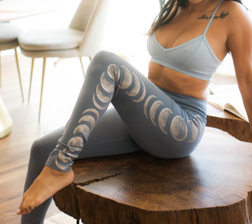 Moon Phases Yoga Legging