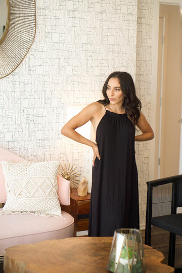 The Havana Maxi in Black