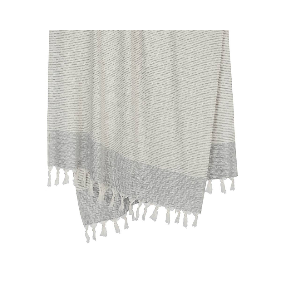 The Desert Throw in Light Grey