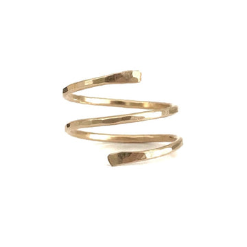 The Wrap Ring in Recycled 14k Gold Fill
