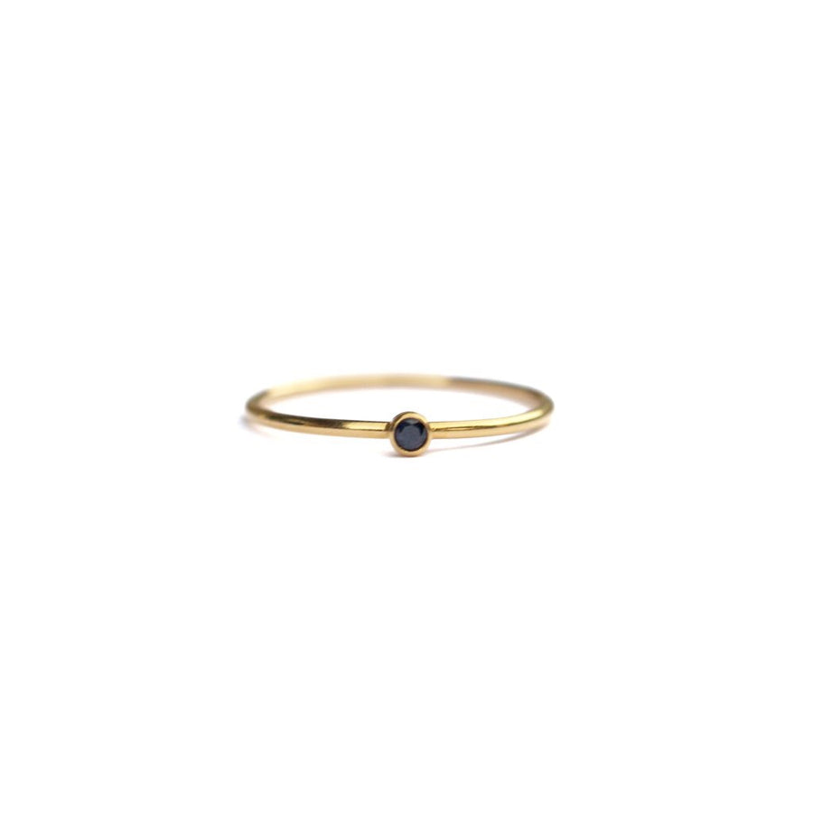 The Marilyn Gem Stacking Ring in Recycled 14k Gold Fill