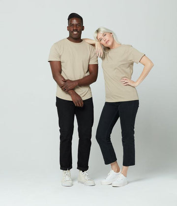 Known Supply Unisex Tee in Oatmeal