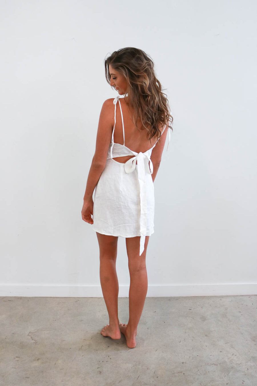 Milly Dress in Cream
