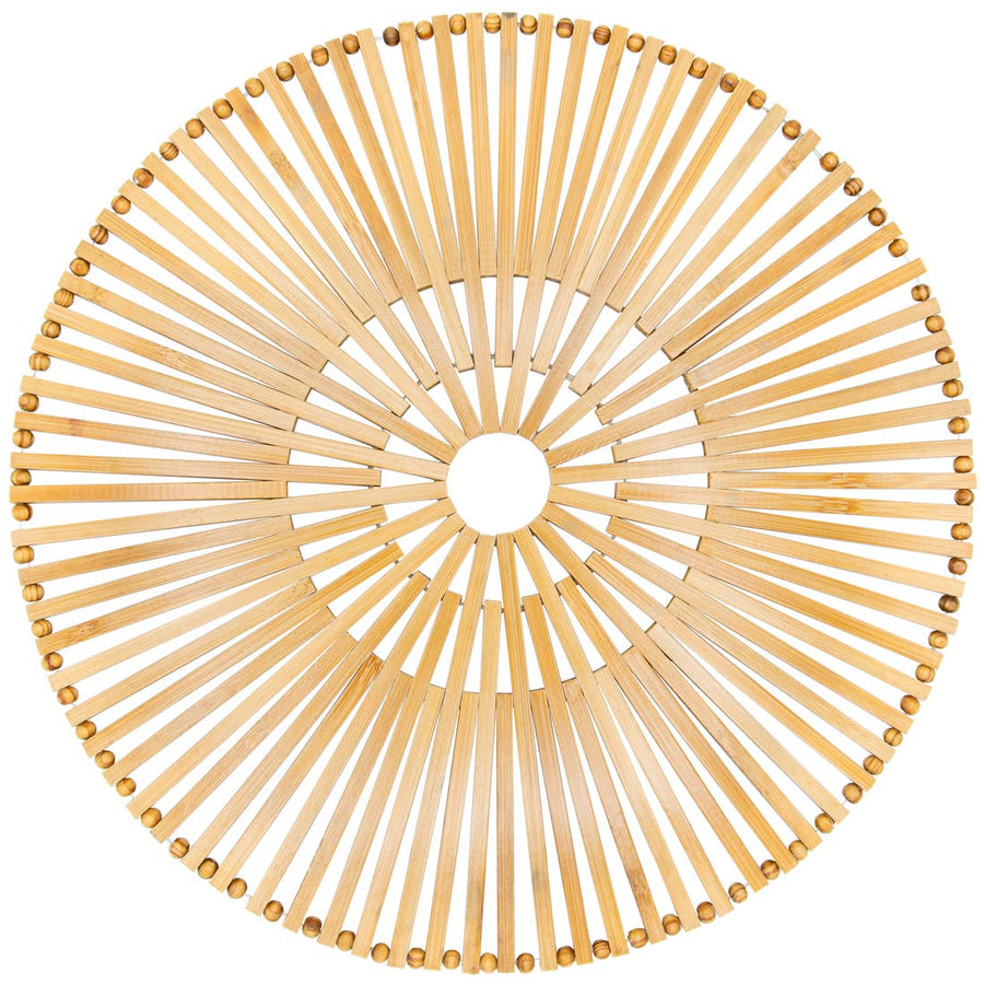 The Soleil Bamboo Charger Plate
