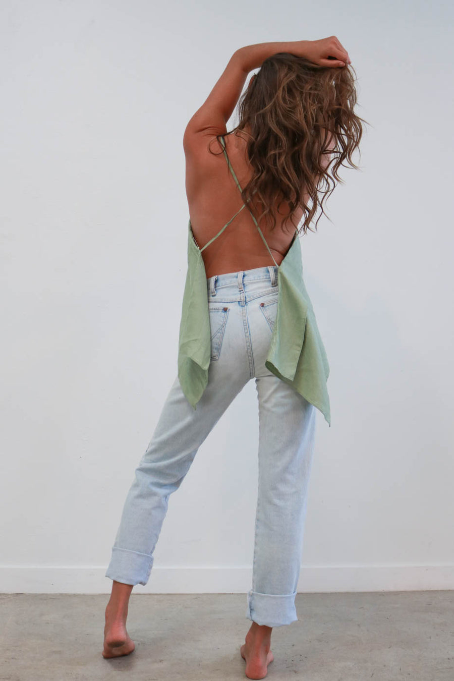Stella Strappy Open Back Top