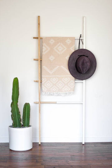 The Tribe Towel in Beige