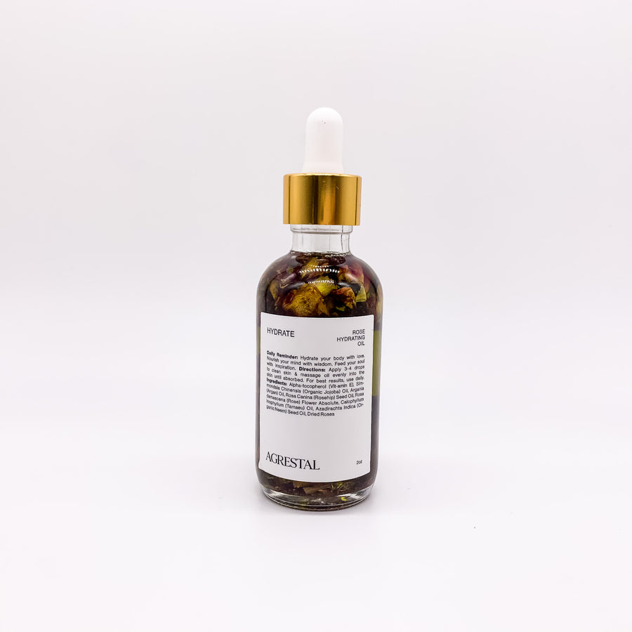 HYDRATE. Rose Hydrating Oil