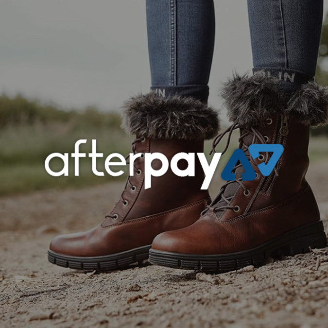 Now available with AfterPay