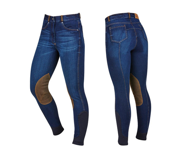 Dublin Shona Suede Knee Patch Breeches