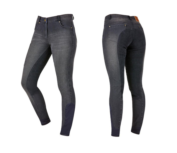 Dublin Shona Full Suede Seat Denim Breeches