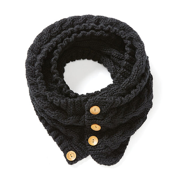 Ariat Snug Cable Scarf - Black