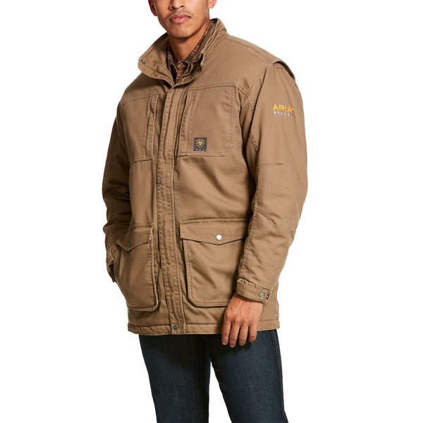 Ariat Men's Rebar Washed DuraCanvas Insulated Coat