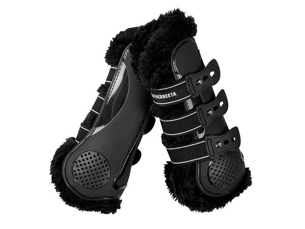 Weatherbeeta Pro Air Fleece Lined Jumping Boots - Large