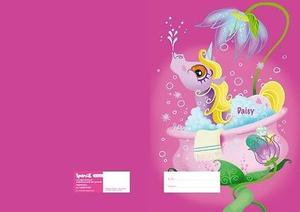 Fairy Daisy Exercise Book Cover