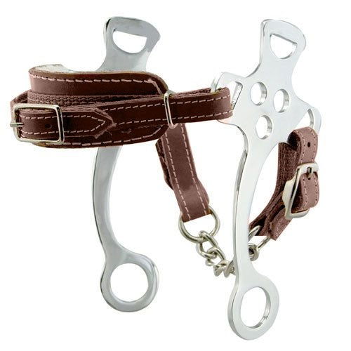Korsteel Fleece Nose Hackamore Bit