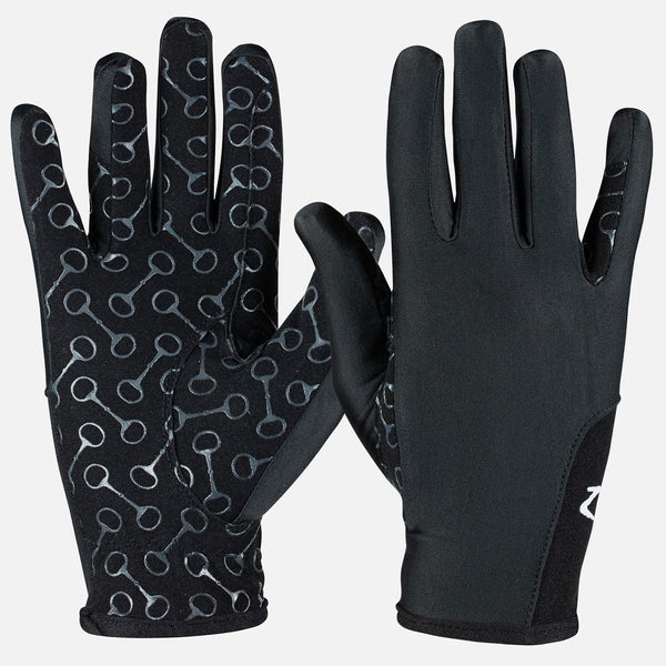 Kids Riding Gloves with Silicone Palm Print