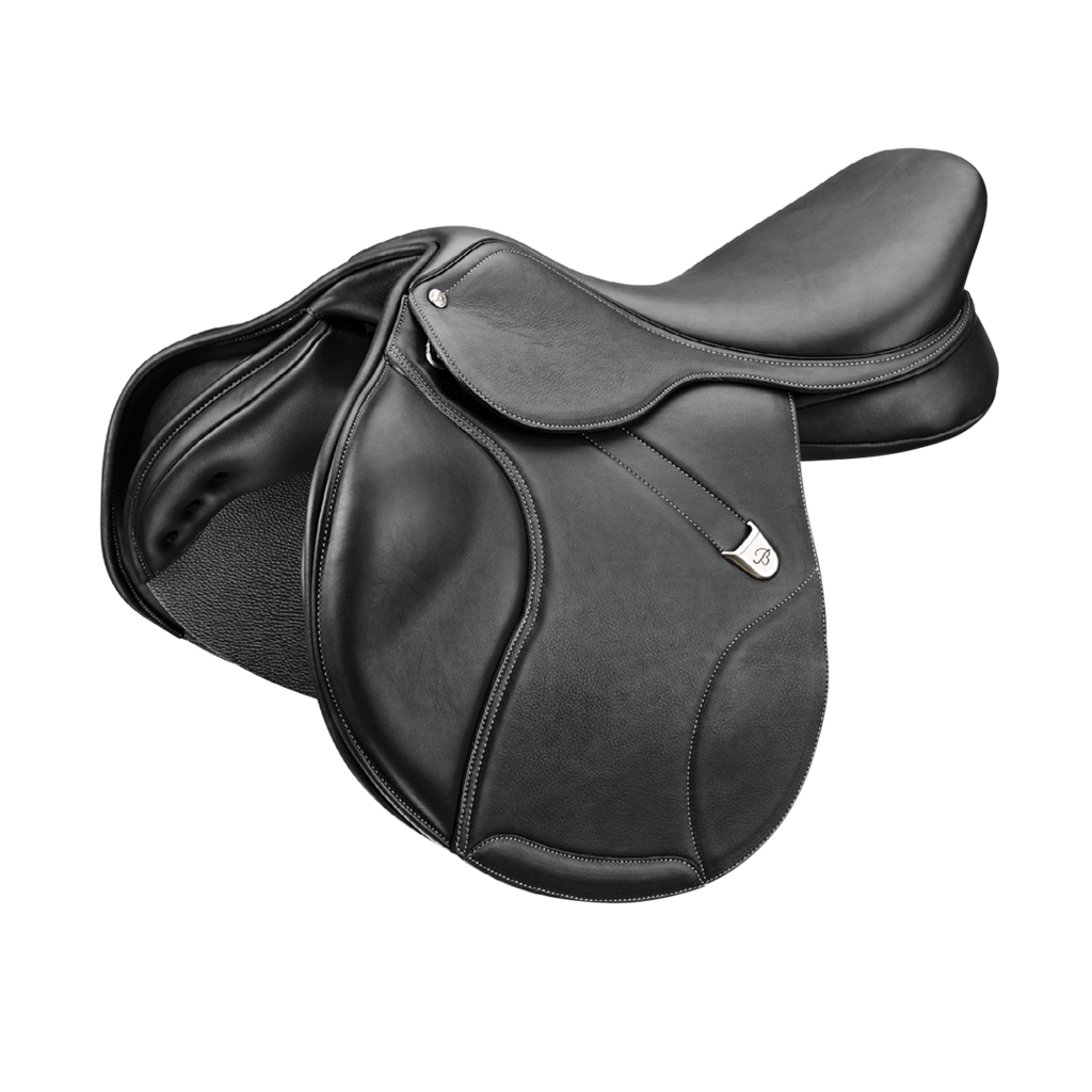 Bates Elevation Luxe Leather Deep Seat Jump Saddle