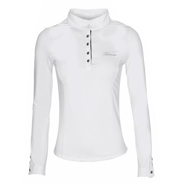 Harcour Crystal Long Sleeve Competition Shirt