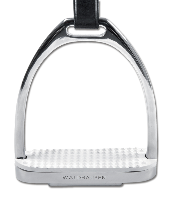 Waldhausen Stainless Steel Fillis Stirrup Irons