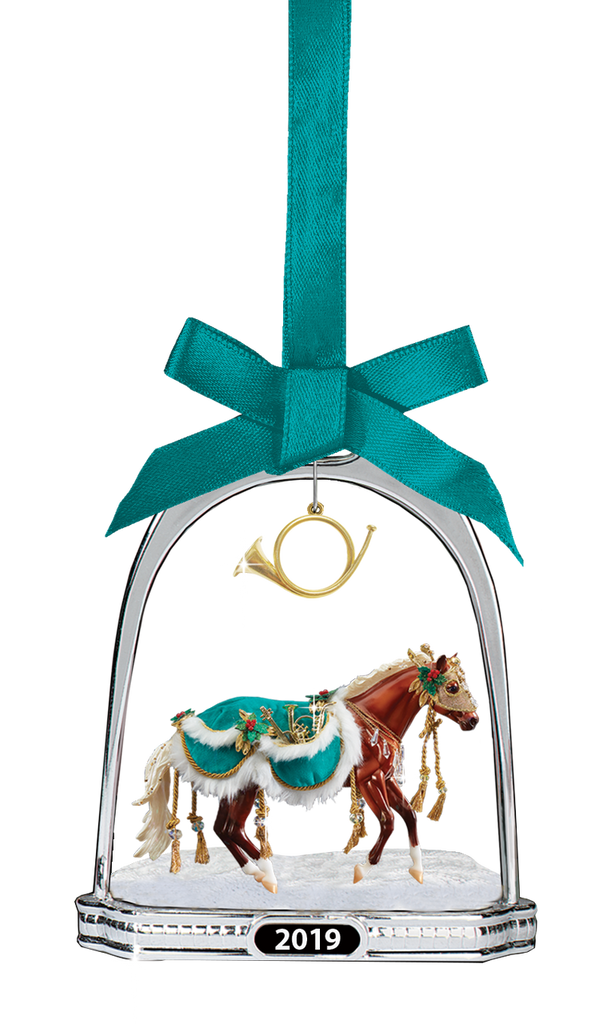 Breyer Horses 2019 Holiday Minstrel Stirrup Ornament