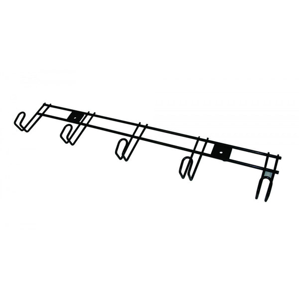 Roma 5 Hanger Wire Rack - Black
