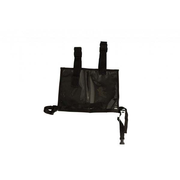 Roma Deluxe Competition Back Number Holder Black