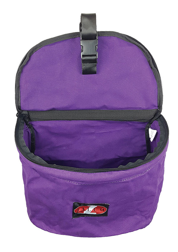 Collapsible Feed Bag - Purple