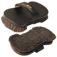 Stubben Leather Back Brush with Pig Bristles