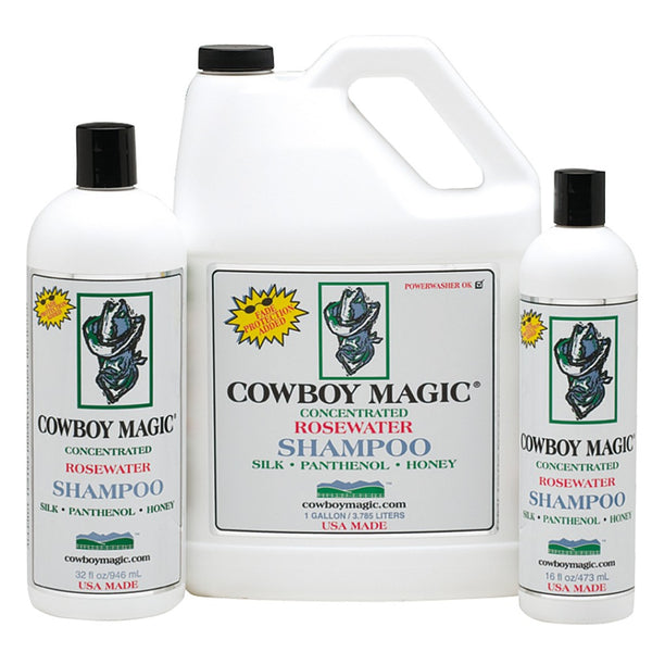 Cowboy Magic Shampoo Range