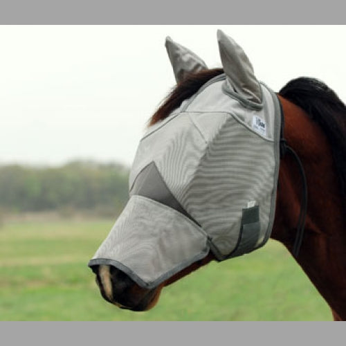 Cashel Crusader Fly Mask with Long Nose and Ears