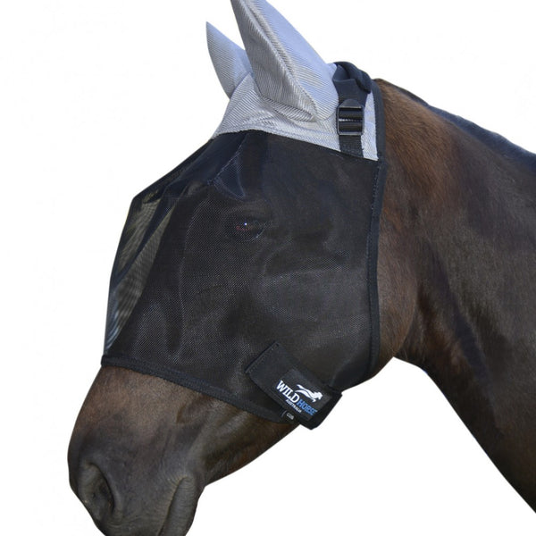 Horse Fly Veil 3 Dart with Mesh Ears