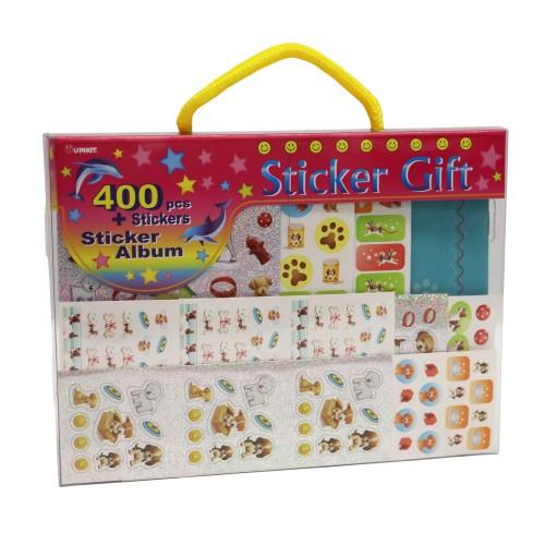 Sticker Gift Pack 400 pce